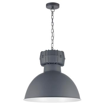 Hanglamp Björn mat grijs
