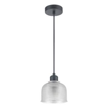 GAMMA hanglamp Yorrick glas zwart
