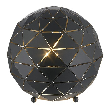 Lampe de table Niels GAMMA noir