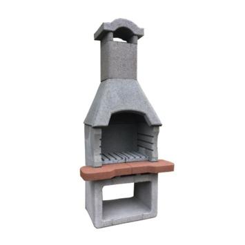 Barbecue en pierre Novus 93x195x60 cm