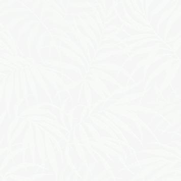 Papier peint intissé Graham & Brown Easy Tropical blanc perle 100527 10 m x 52 cm