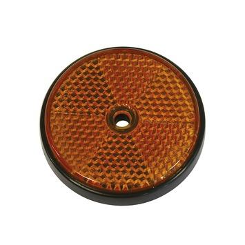Reflector oranje ø 70 mm 2 stuks