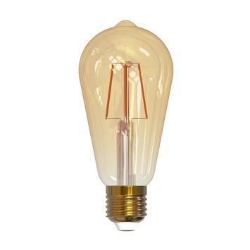 Ampoule LED ST64 à filament gold Handson E27 470 Lm 4,5 W dimmable