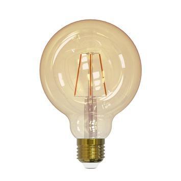 Handson LEDlamp globe 95 mm filament gold E27 320 Lm 4 W dimbaar
