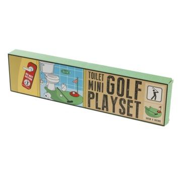 Jeu de golf pour le toilet