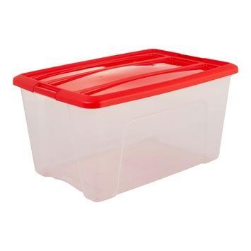 Kertsballenbox 45 L met kartonnen indeling