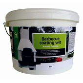 Barbecue coating wit 8 kg