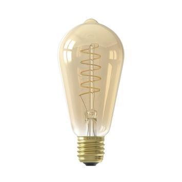Calex ampoule LED à filament ST64 E27 4 W 200 Lm dimmable or