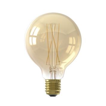 Calex ampoule LED à filament globe 95 cm E27 4W 200 Lm dimmable or