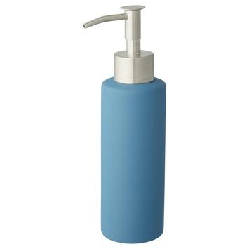 Atlantic zeepdispenser met rubber coating Blauw