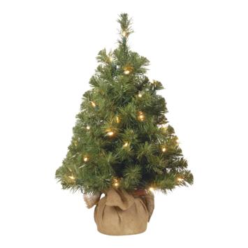 Kunstkerstboom met LEDverlichting 61 cm