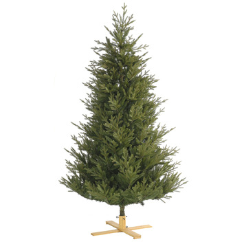 Kunstkerstboom Arkansas met houten voet 152 cm
