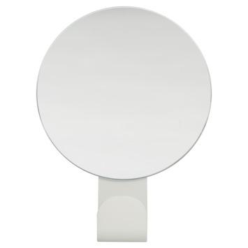 Sealskin haak met spiegel Brix wit