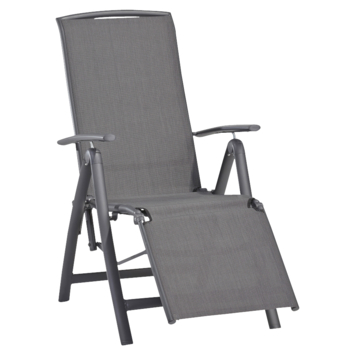 Fauteuil relax Toledo anthracite