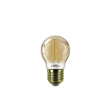 Philips LED kogellamp gold E27 5 W 350 Lm dimbaar