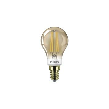Ampoule LED sphérique Philips gold E14 5 W 350 Lm dimmable