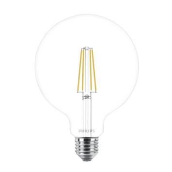 Ampoule LED globe Philips 120 mm E27 8 W 806 Lm dimmable