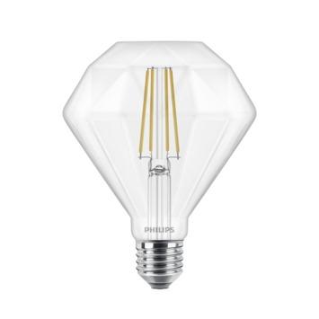 Philips LED Giant diamond E27 40W filament helder dimbaar