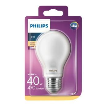 Philips LED peerlamp E27 4,5 W 470 Lm