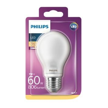 Philips LED peerlamp E27 6,7 W 806 Lm