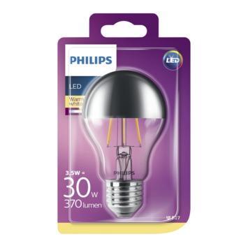Ampoule LED poire Philips E27 3,5 W 370 Lm