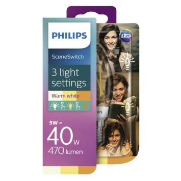 Philips LED filament kaarslamp E14 5 W 470lm