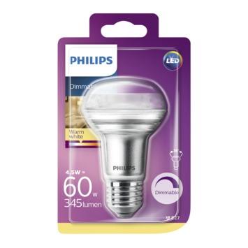 Philips LED reflector E27 4,5 W 410 Lm dimbaar