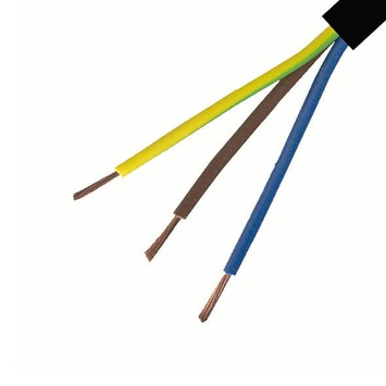Handson VTLB-kabel 3 x 0,75 mm² 10 m zwart