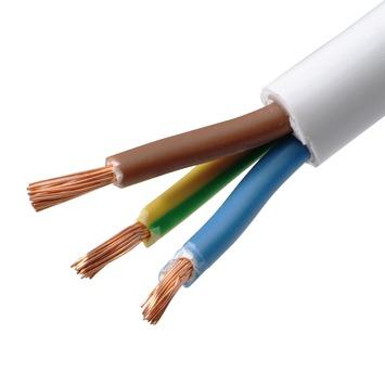 Câble VTMB Handson 3 x 1,5 mm² 5 m blanc