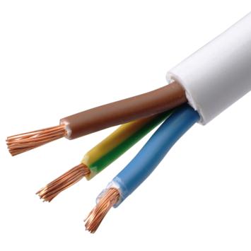 Handson VTMB-kabel 3 x 1,5 mm² 10 m wit