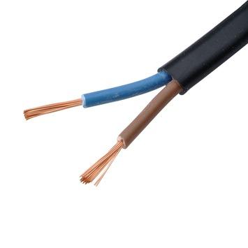 Handson VTLBP-kabel 2 x 0,75 mm² 10 m zwart