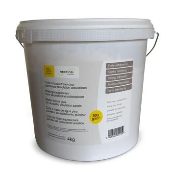 Recticel lijm voor akoestische isolatie Simfofit 4 kg