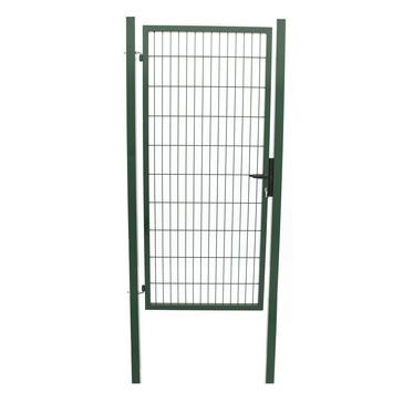 Enkele poort Roma/Milano groen 160x100 cm