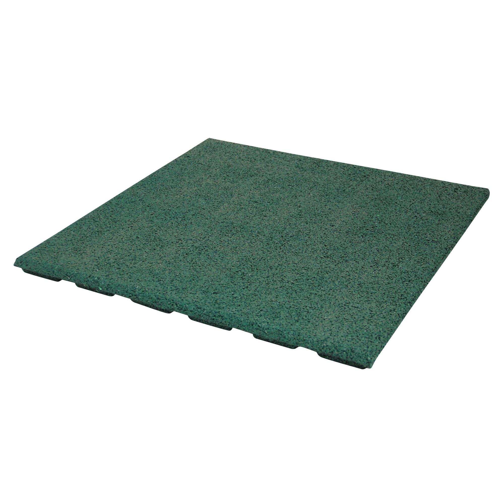 dalle en caoutchouc 50x50x2 5 cm vert carrelages. Black Bedroom Furniture Sets. Home Design Ideas