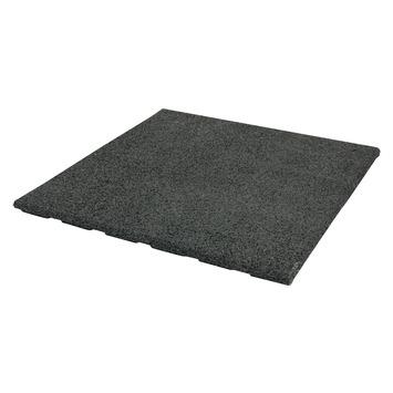Terrastegel Rubber Zwart 50x50 cm - 46 Tegels / 11,50 m2