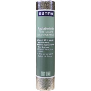 Film  pour radiateur GAMMA 2mm 50x600 cm réfléchissant à 90%