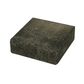 Steen Plano zwart-grijs 15x15x5 cm