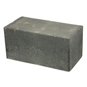 Bloc empilable 30x15x15 cm anthracite
