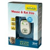 Ecostyle ultrasone rat- en muisbestrijder voor ruimte van 50 m2