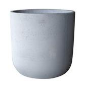 Pot rond Ø46 cm ciment