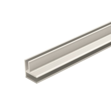 Dumawall + aluminium hoekprofiel 2,6 m