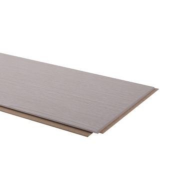 Lambris en MDF GAMMA Quality Line 8 mm 2,34 m² brut gris cendre
