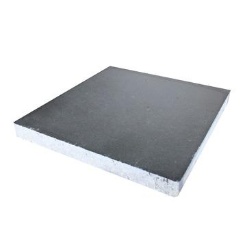 Betontegel Zwart 60x60.Betontegel Antraciet 60x60 Cm 2 Tegels 0 72 M2