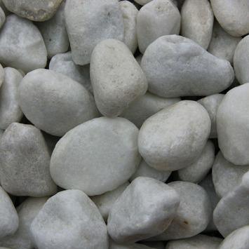 Grind keien Carrara wit 25-40 mm 20 kg