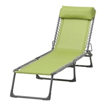 Chaise longue Mallorca vert