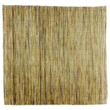 Bamboe Palen Gamma.Bamboe Schutting Natural 25 28 Mm 180x180 Cm