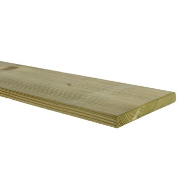 Tuinplank 1,6x14,2x240 cm geïmpregneerd