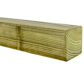 Tuinpaal 180x6,8x6,8 cm geïmpregneerd