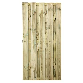 Porte de jardin Jumbo droit 180x90 cm