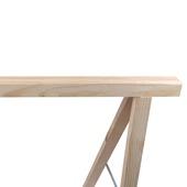 Schraag licht hout 75x75 cm